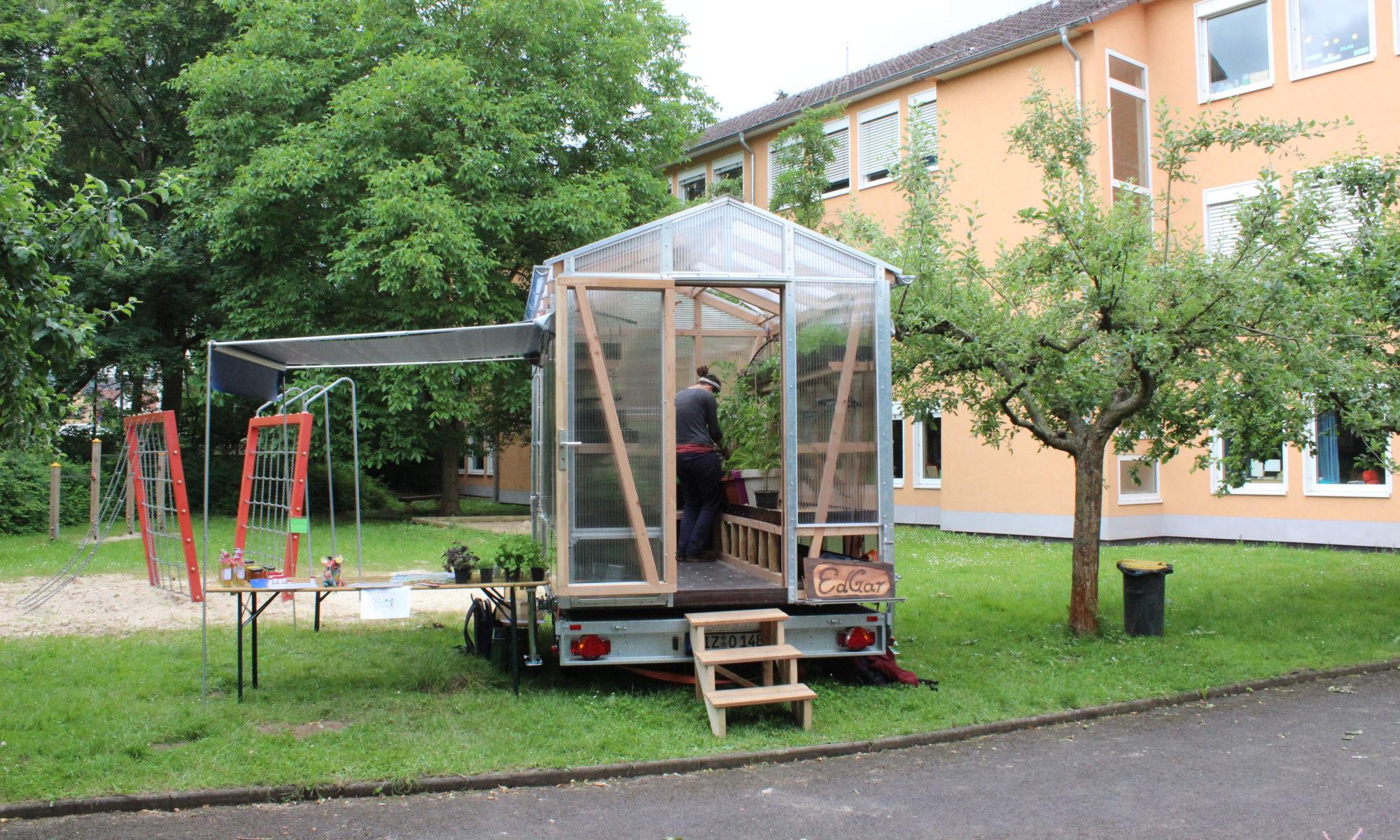 Das mobile Gewächshaus Edgar